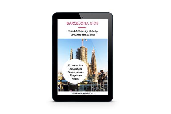 Barcelona Gids tablet
