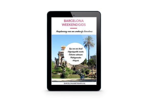 Barcelona Weekendgids tablet