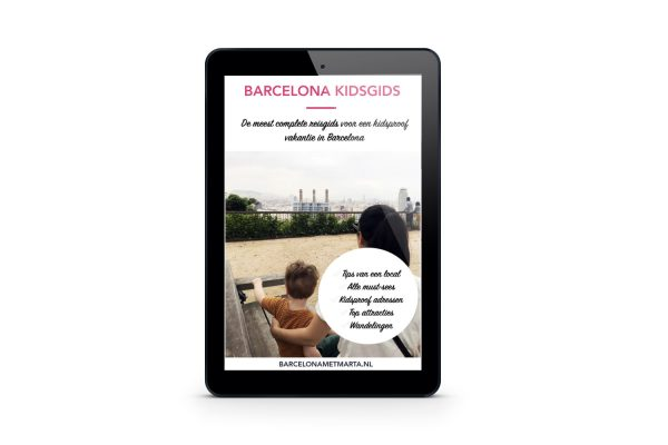 Barcelona Kidsgids tablet